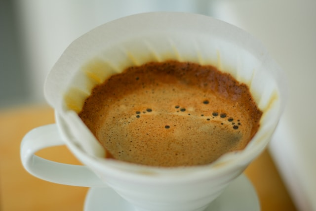 Pour over coffee ratio for hario v60 dripper