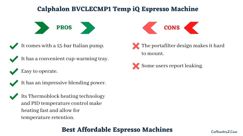 best affordable espresso machines
