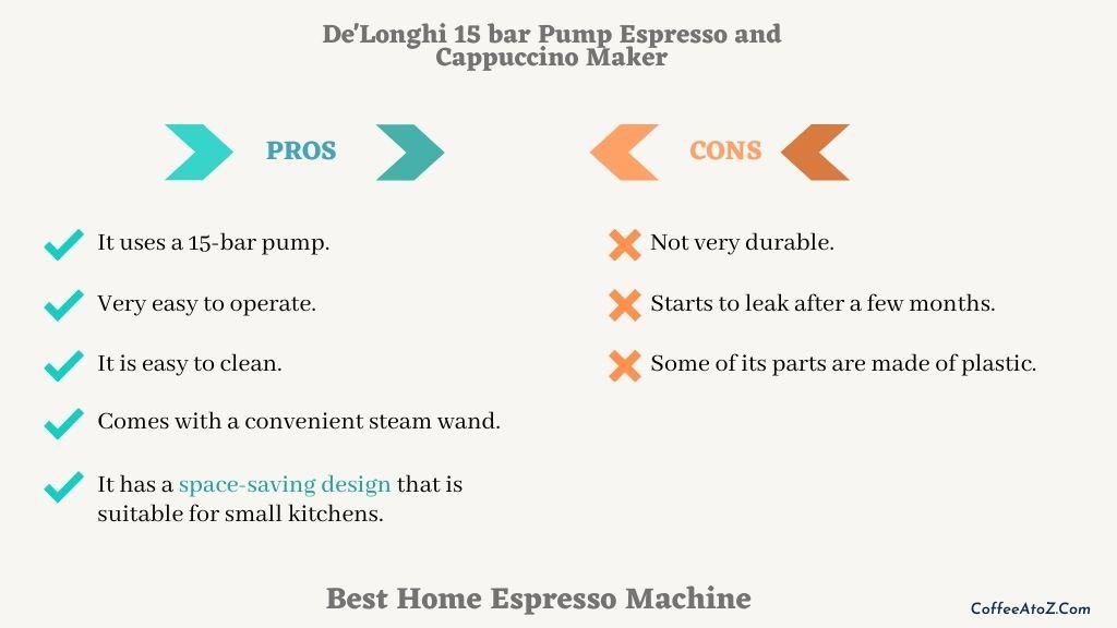 the best espresso machine for home