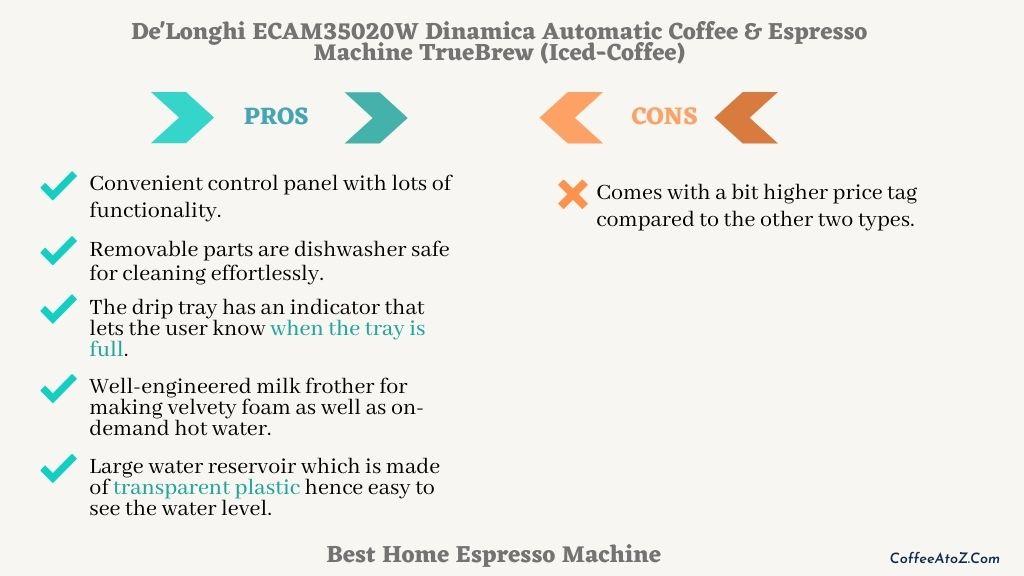 best reasonably priced home espresso machine