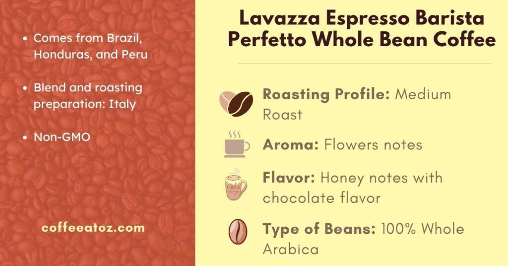 Lavazza Espresso Barista Perfetto Medium Roast Coffee