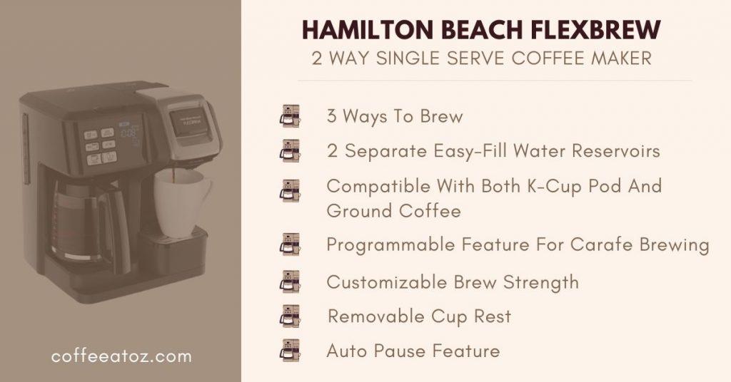 hamilton beach 2 way flexbrew review