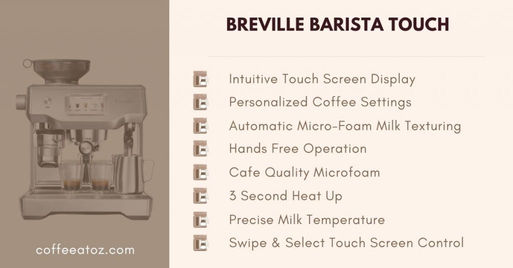 breville the barista touch review