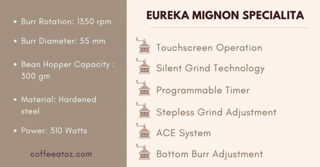 eureka specialita review